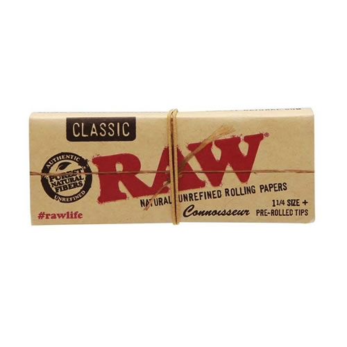RAW 1 1/4 Connoisseur w Tips