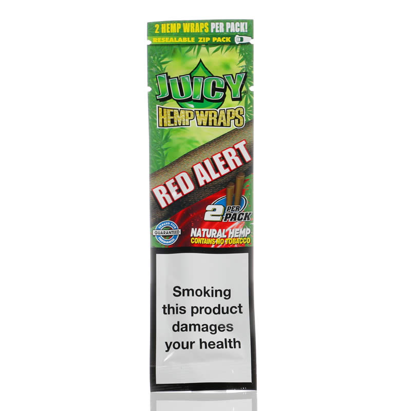 Juicy Jay's Hemp Wraps Red Alert
