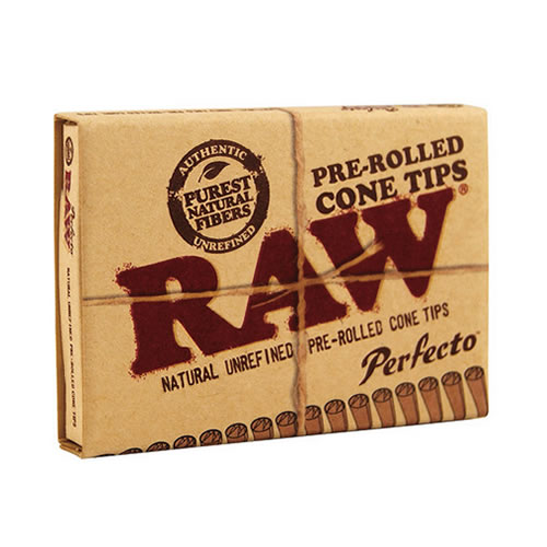 RAW Pre-Rolled Tips Perfecto