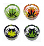 Leaf Glass Ashtray