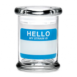 420 Science Jar Medium Hello