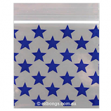 25 x 25 Satchels Blue Stars