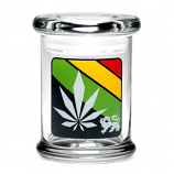 420 Science Jar Medium Rasta