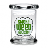 420 Science Jar Medium Smoke