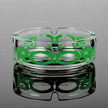 RooR Ashtray Green