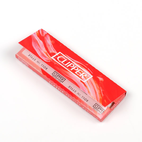 Clipper Red Regular Rolling Papers