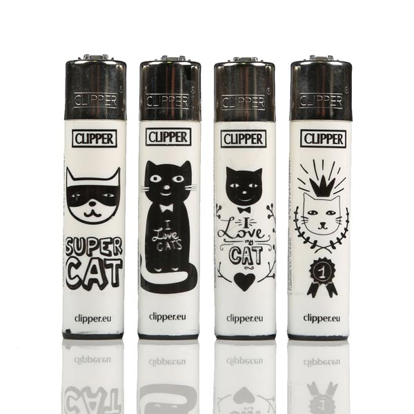 Clipper Lighters Cats Love