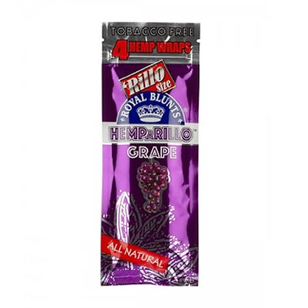 Hemparillo Hemp Wraps Grape 4pk